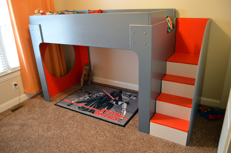 DIY Loft Bed Project