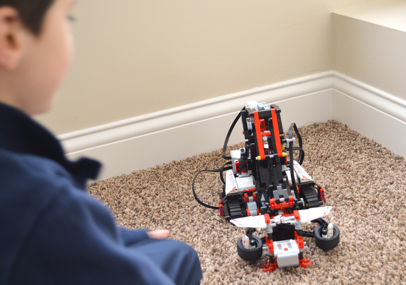 LEGO Mindstorms EV3 SNATCH3R